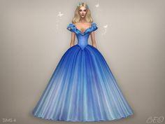 Cinderella (2015) - Butterflies dress (S4) - Beo creations