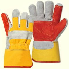 Chrome Double Palm rigger glove