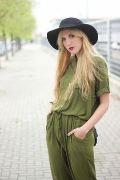 Khaki jumpsuit   DearDiary-fashion #kissmylook