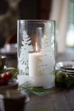 festive woodland gla