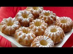 (4) YOGURT Mini Cakes! - FAST and AWESOME - Mirka van Gils - YouTube Mini Cakes, Doughnut, My Recipes, Yogurt, Van, Cooking, Awesome, Desserts, Youtube