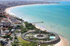 """Joao Pessoa, Brazil """"I have great friends in this place"""" Brazil Tourism, States Of Brazil, Living In Brazil, Rio Grande Do Norte, Paraiba, Vacation Places, Travel Pictures, Travel Pics, Great Friends"""