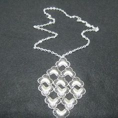 Sarah Coventry Silver Necklace