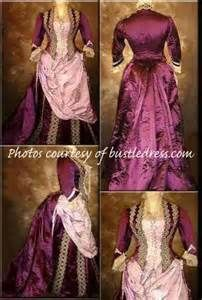 Victorian Bustle Gowns & Dresses
