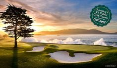 San-Francisco, Californie, USA, Pebble Beach Resorts, Golf Plus Voyages