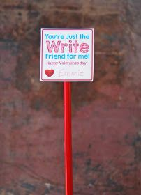 A Pocket full of LDS prints: Valentine Pencil Toppers - Free Printable