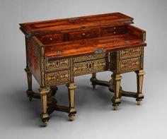 Writing Desk (Bureau Brise) By Alexandre-Jean Oppenordy (maker ...