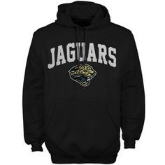 47 Brand Jacksonville Jaguars Scrimmage Pullover Hoodie - Black Jaguars  Gear d598e5348