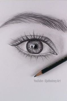 How To Draw Realistic Eye - Step by StepThe Secrets Of Drawing Realistic Pencil Drawing Tutorial for Occasional ArtistsNEW Beautiful & Detailed eye Drawing. Want to start Sketching, Drawing, and Creating? **Tap the image and get yourself a brand NEW Eye Drawing Tutorials, Drawing Techniques, Drawing Tips, Art Tutorials, Drawing Sketches, Drawing Ideas, Drawing Art, Sketches Of Eyes, Sketching