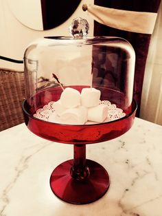 Marshmallows to welcome you ..