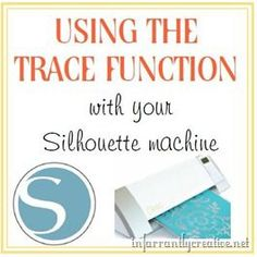 Trace Function on the Silhouette Studio Program