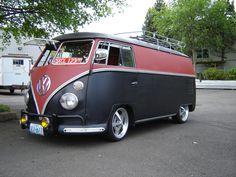 Volkswagen minibus 2 by MenschMachinen on deviantART
