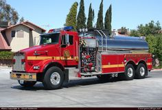 Las Vegas Fire Department Tanker Las Vegas Fire
