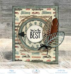 You're the Best Card for Elizabeth Craft Designs.