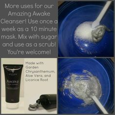 Younique's Awake Facial Cleanser | Awake Facial Cleanser Scrub | Exfoliating Scrub | Clear skin | Clear complexion | Cosmetics | Dual Purpose | Younique Presenter | Makeup | Makeup Artists | Beauty Products | Fastest Growing Team | Fastest Growing Younique Team | Direct Sales | Work From Home | Paid Instantly | Unlimited Income Potential | http://www.fabulashesbyjan.com