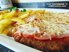 Milanesa o escalope de ternera a la napolitana | Cocinar en casa es facilisimo.com