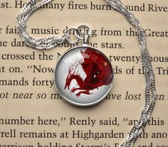 Handmade Dragon Age: Origins inspired necklace