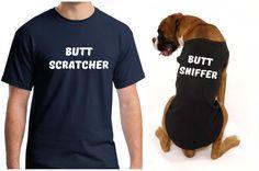 Gag gift gag gifts for men funny dog shirt matching dog and