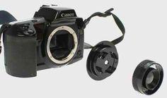 The Diana F+ Canon Lens Adaptor