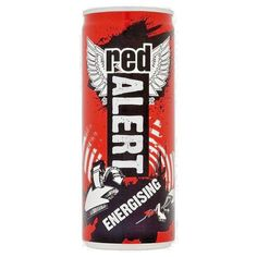 Red Alert Energising 250ml x 24 cans #RedAlert