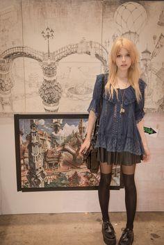 Mode Outfits, Grunge Outfits, Fashion Outfits, Alternative Outfits, Alternative Fashion, Goth Hippie, Mode Emo, Estilo Harajuku, Facon