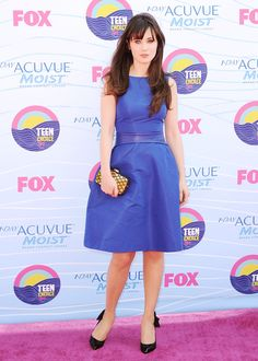 TCA 2012 Zooey Deschanel