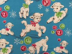 Vintage Gift Wrapping Paper  Little by TheGOOSEandTheHOUND on Etsy