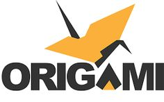 Resultado de imagem para origami logos