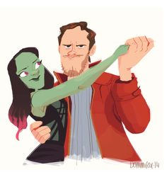 dommifox:  I'M HOOKED ON THIS FILM. Star-Lord- Part time dance...