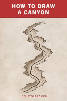 Drawing canyons on your maps is a great way to make the terrain a little more interesting and add depth to the landscape Here are some simple steps so you can draw your own canyons for your fantasy map Josh Stolarz Fantasy Map Making, Fantasy World Map, Fantasy Art, Dnd World Map, Landscape Drawing Tutorial, Landscape Drawings, Art Drawings, Fantasy Drawings, Map Symbols