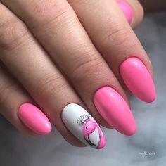 Cute Nail Art, Easy Nail Art, Painted Nail Art, Hand Painted, Golden Nails, Nail Art Images, Glamour Nails, Simple Nail Art Designs, Salon Style