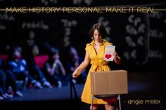 Angie Miller encourages us to leave behind primary documents at Photo by James Duncan Davidson Ted Quotes, Ted Speakers, Ted Talks, Inspirational Message, Helpful Hints, Encouragement, Challenges, Messages, Pa Speakers