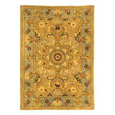 Have to have it. Safavieh Classic CL387A Area Rug - Beige/Light Blue - $52.99 @hayneedle