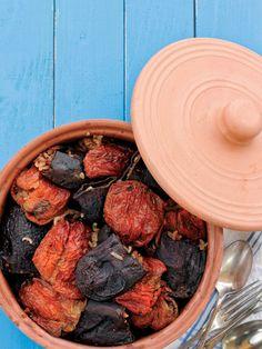 Kuru patlıcan-biber dolması Tarifi - Türk Mutfağı Yemekleri - Yemek Tarifleri