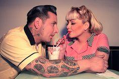 rockabilly couple | Tumblr