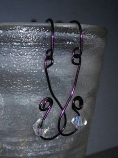 Check out this item in my Etsy shop https://www.etsy.com/listing/214431052/1-swirled-lg-swarovski-dangle-variations