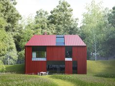 Claesson Koivisto Rune Debuts Gorgeous Daylit Tind Prefab Houses in Scandinavia   Inhabitat - Green Design, Innovation, Architecture, Green Building