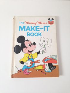 Vintage Mickey Mouse book Crafts book