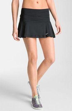 Nike 'Share Athlete' Tennis Skirt   Tennis Dresses   Tennis Skirts   Tennis Ladies Apparel @ www.FitnessGirlApparel.com