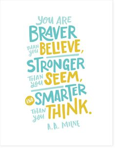You Are Braver Than You Believe - Free PDF Download