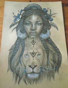 The Lion Queen on Behance