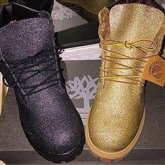 GLITTERED CUSTOM TIMBS LADIES , I'm currently glittering timberland boots. WITH YOUR OWN BOOT It'll be 63$ !!! Can be NEW OR OLD. IF YOU EMAIL ME IT WILL ONLY BE 55! Free ship! THATS ONLY IF YOU EMAIL ME ! (teionsmith0715@gmail.com) If I provide boot it'll be for an extra fee.  GET YOURS NOW Timberland Shoes Winter & Rain Boots