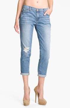 J Brand Aoki Tulum Brand 'Aioki' Skinny Stretch Jeans (Tulum Wash) available at # ...