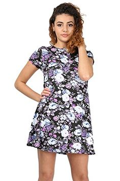 Womens Ladies Printed Summer Sunny Cap Sleeve Flare Tunic Swing Dress Plus Size Oops Outlet http://www.amazon.co.uk/dp/B0114E3YP8/ref=cm_sw_r_pi_dp_c1COvb0CS1JAV