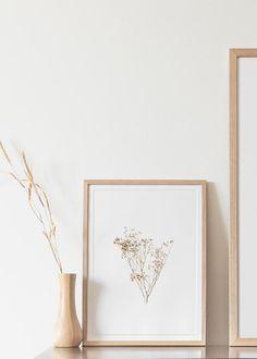 Home Decorators Laminate Flooring Artwork Prints, Wall Prints, Dry Plants, Plant Art, Home Decor Wall Art, Botanical Prints, Home Decor Inspiration, Hygge, Farmhouse Decor