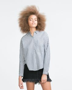 Image 4 of STRIPED SHIRT from Zara