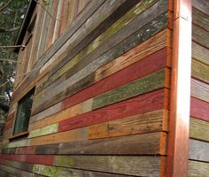 Rustic and Beautiful Backyard Micro-House is Built from Recycl...