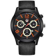 Howstar Wrist Watch Mens Quartz Watch Black Date Luxury Sport Luminous Wrist Watch,Perfect Gift For Father's Day * Read more at the image link. (This is an affiliate link) #HealthMonitors