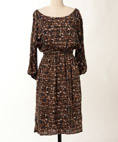 Take a look at this Navy Harvest Moon Dress by Down East Basics on #zulily today! would be cute w/jean jacket & boots!