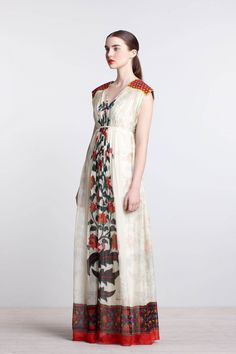 Devaki Maxi Dress - Anthropologie.com